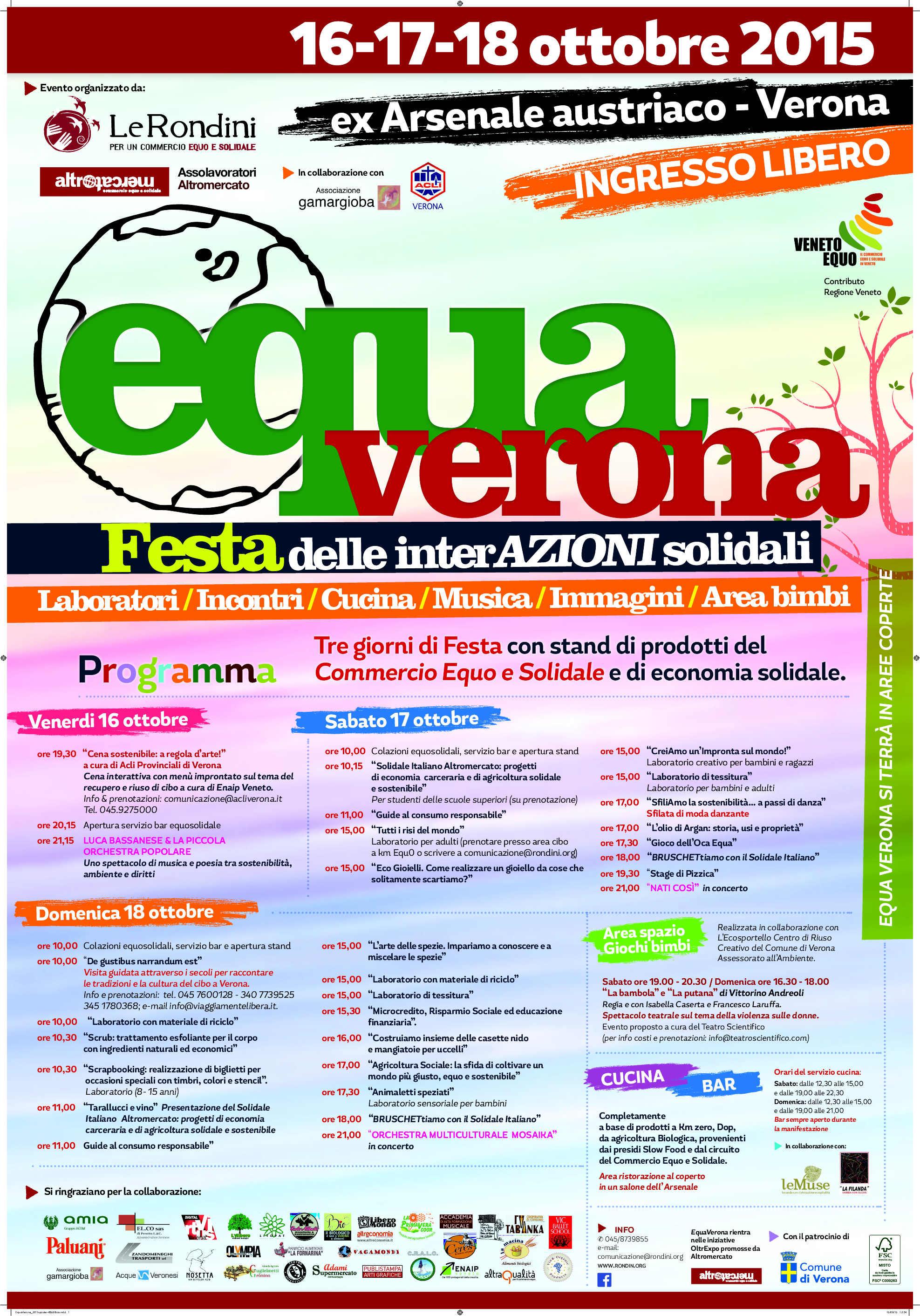 Nati Così Live Mercato Equo Solidale Verona ESCAPE='HTML'